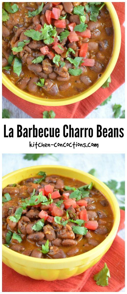 Kitchen Concoctions - La Barbecue Charro Beans Recipe