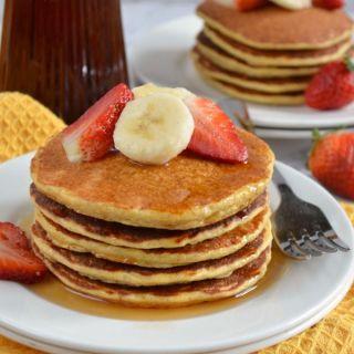 Pichuberry Protein Pancakes