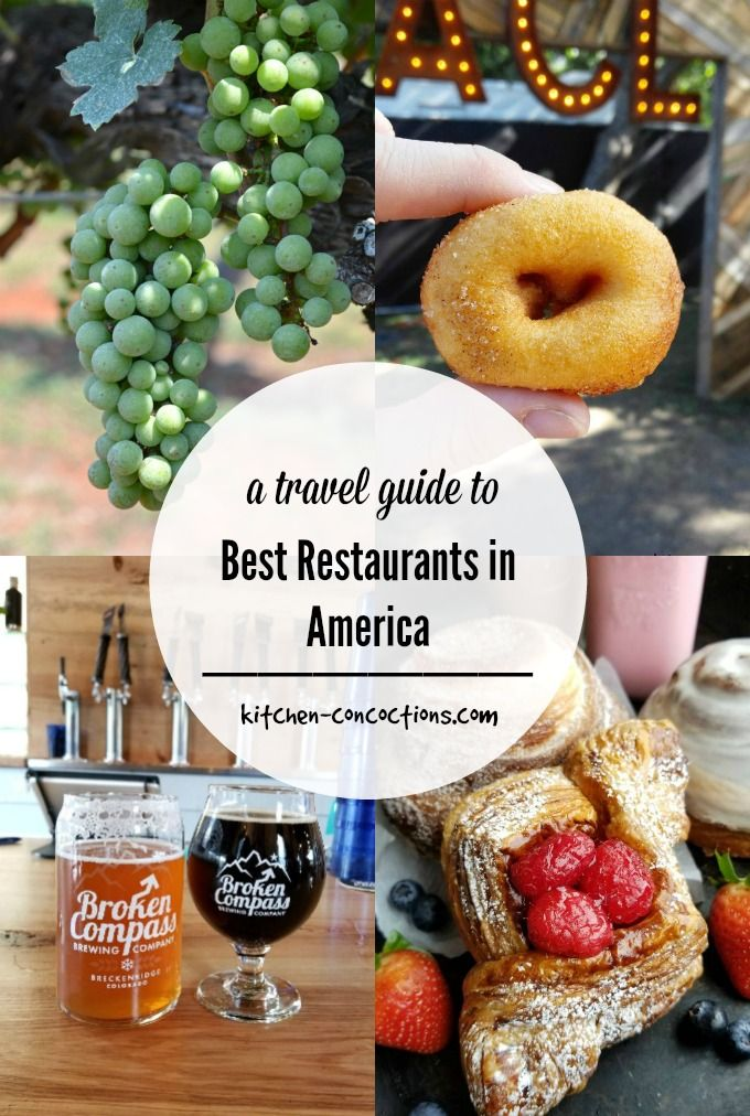 The Ultimate Travel Guide to Best Restaurants in America
