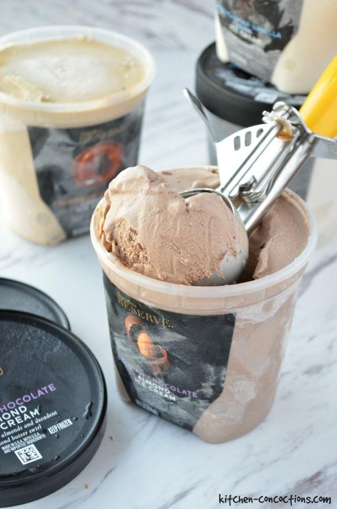 Roasted Strawberry Shortcake Ice Cream Sundaes picture