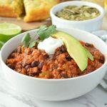 Chorizo and Black Bean Chili recipe