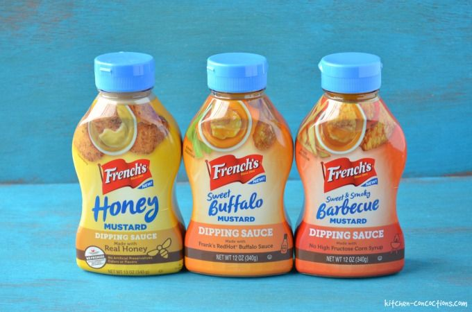French's mustard dipping sauces