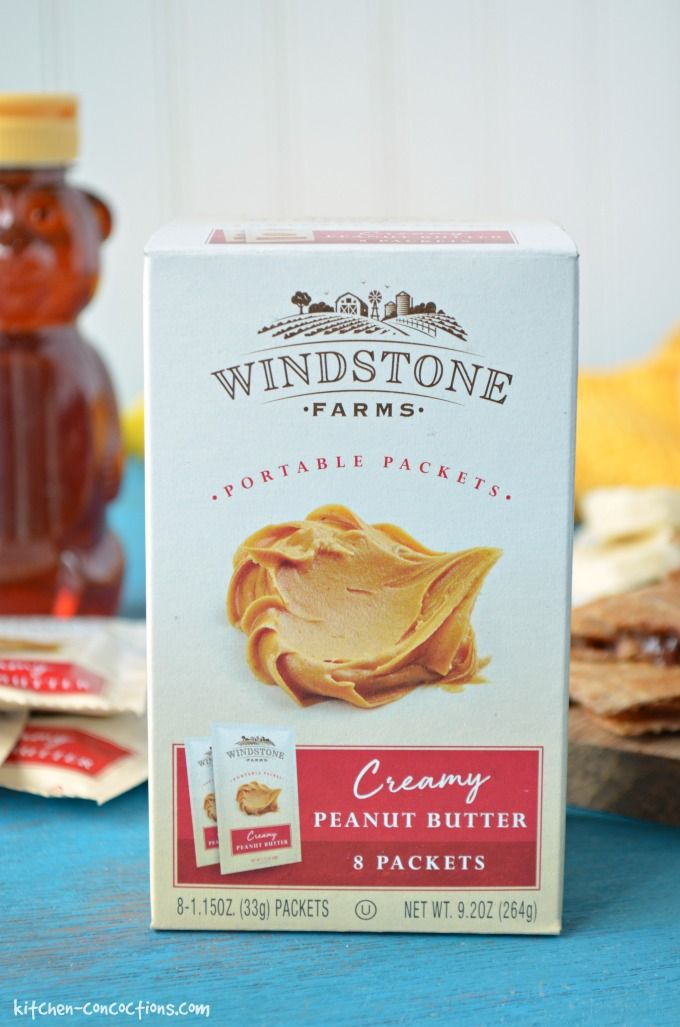 A box of Windstone peanut butter.