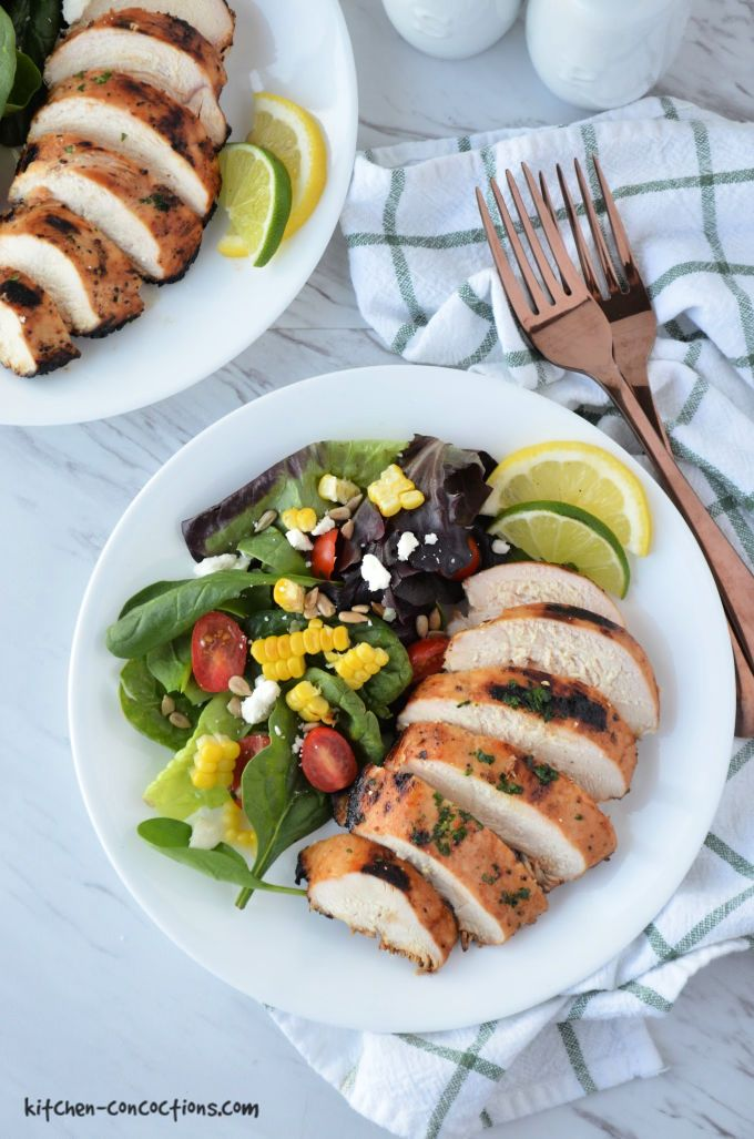 Grilled Lemon Lime Chicken