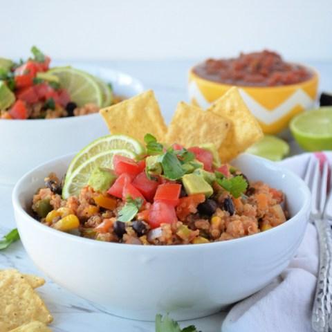 Southwestern Quinoa Skillet Dinner