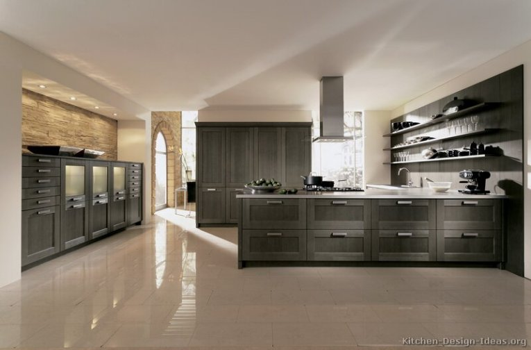 Contemporary Kitchen Cabinets   Pictures and Design Ideas 04  Contemporary Kitchen Cabinets