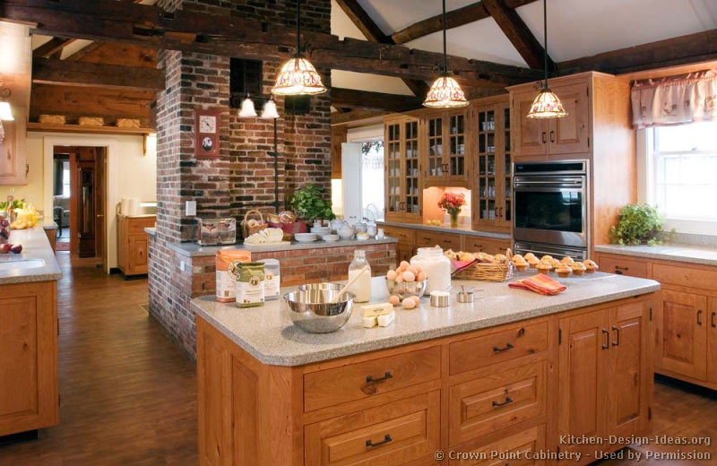 Rustic Kitchen Designs - Pictures and Inspiration on Rustic Traditional Decor  id=22248