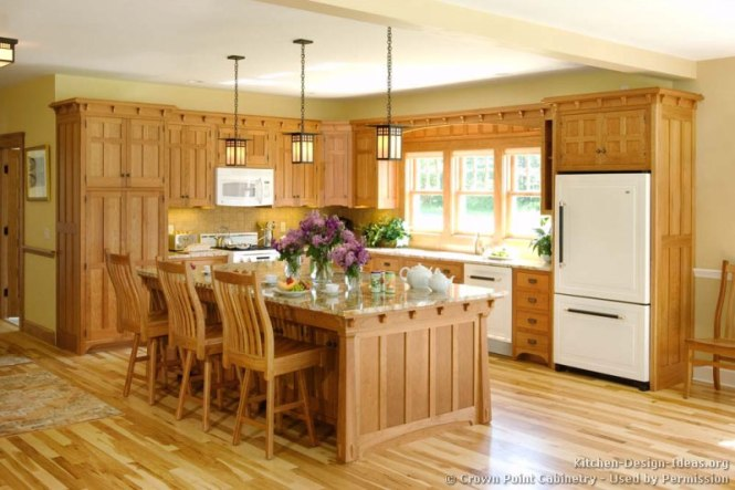 Mission Style Kitchen Cabinets By Crown Point
