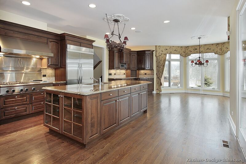 Pictures Of Kitchens Traditional Medium Wood Cabinets Brown Page 2