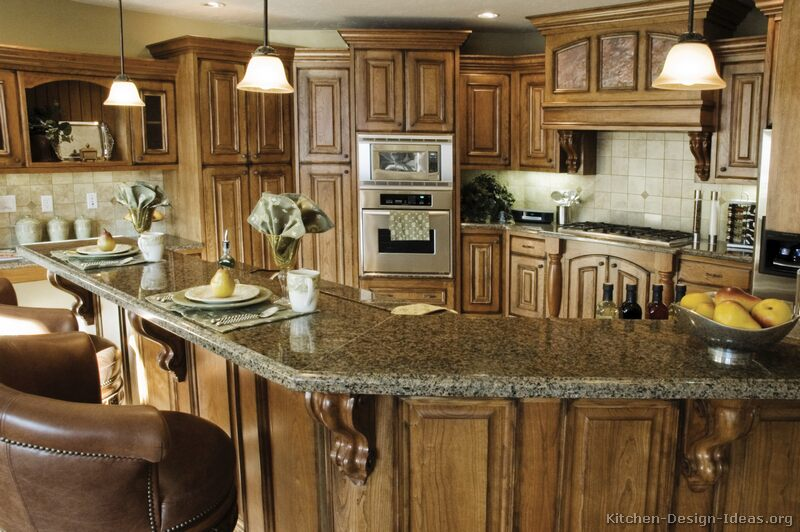 Rustic Kitchen Designs - Pictures and Inspiration on Rustic Traditional Decor  id=80122