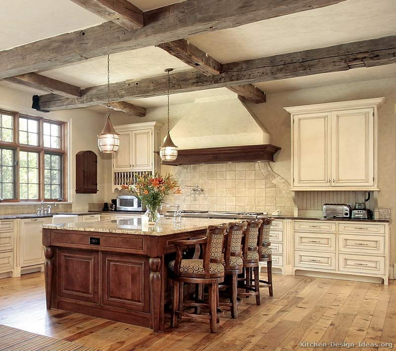 Rustic Kitchen Designs - Pictures and Inspiration on Rustic:rkh3E0Gkuju= Farmhouse Kitchen Ideas  id=46489