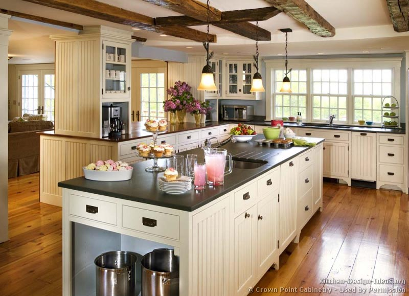 Country Kitchen Designs Island