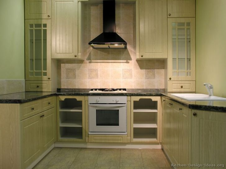 Kitchen Cabinets Traditional Whitewash 009 S Small Tile