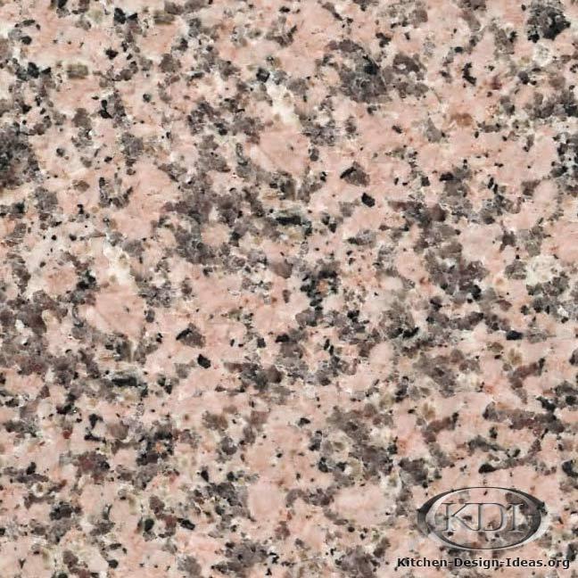 Light Pink Granite Kitchen Countertop Ideas