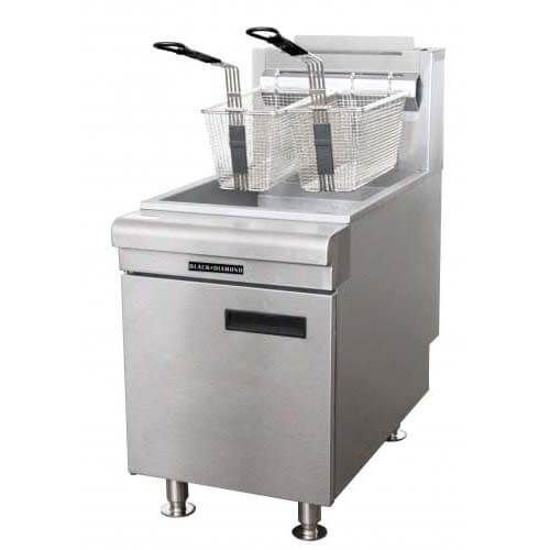 Black Diamond Commercial Deep Fryer Countertop 60 NG