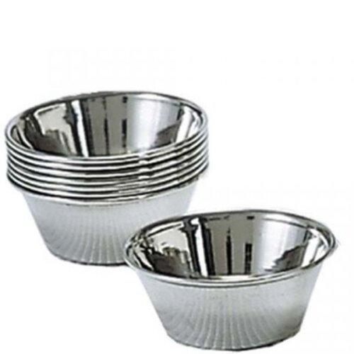 Stainless steel sauce cups 1.5 oz. Adcraft