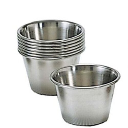 stainless steel sauce cups 2.5 oz. Adcraft