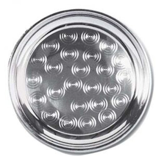 Stainless steel round cater tray 18 inches