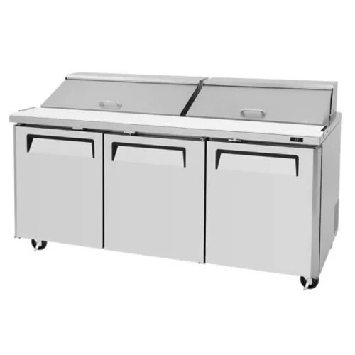 Turbo Air Sandwich Salad Prep Table w Refrigerated Base - MST-72 (5)