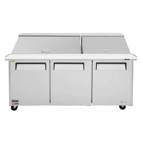 TurboAir Sandwich Salad Prep Table wRefrigerated Base - MST-72-30-N (2)