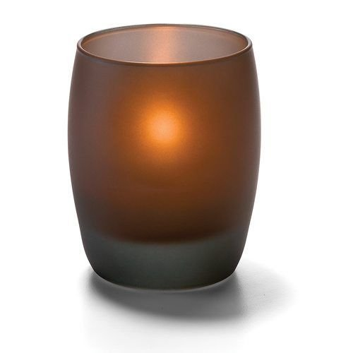 Hollowick 6404MA Contour Votive for HD8, HD12, or HD15, Midnight Amber