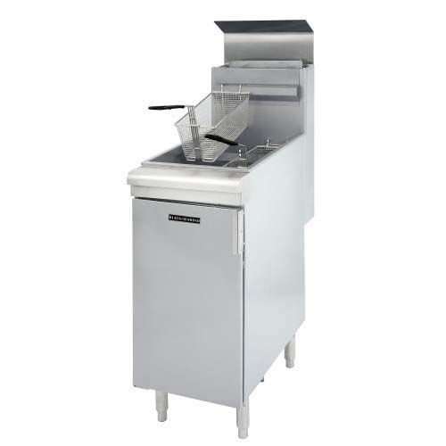Black Diamond Commercial Deep Fryer Gas 120K BTU LPG