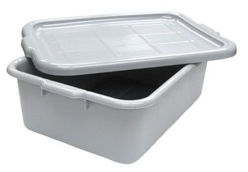 Dish Box Gray
