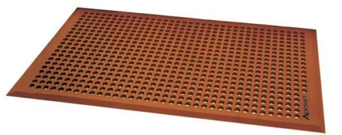 3′ x 5′ Terra Cotta Flexible Anti Fatigue Mat with Beveled Edges