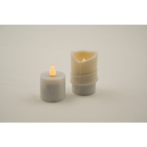Hollowick SSPL-I Silicone Sleeve For Evolution & Platinum Candle, Ivory