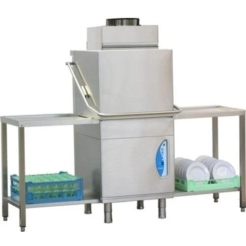 Pass Through Dishwasher With Steam Condenser