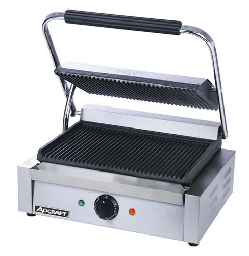 Panini Grill – Grooved