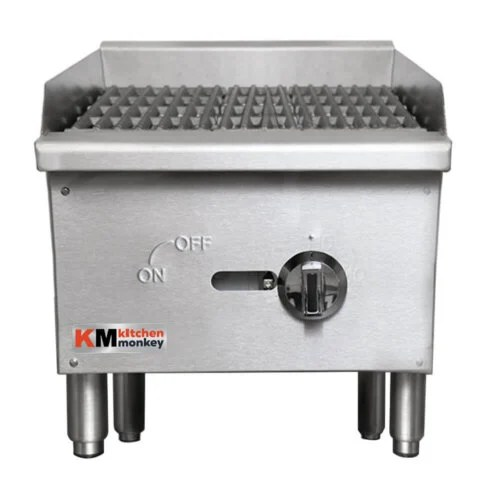 Commercial Grill Gas Charbroiler 16 Inches Wide