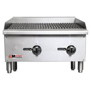 Commercial Grill Gas Charbroiler 24 Inches Wide
