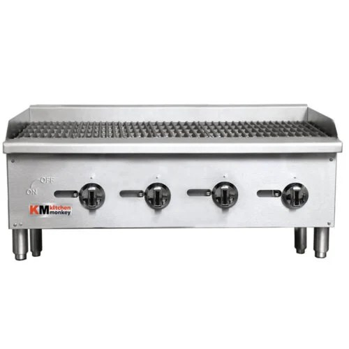 Commercial Grill Gas Charbroiler 36 Inches Wide