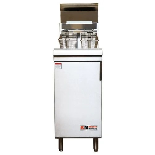 Commercial Deep Fryer Gas 120K BTU LPG