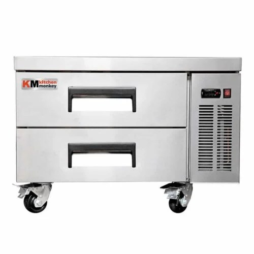 Kitchen Monkey KMCB-36 36 Inch 2 Drawer Refrigerated Chef Base