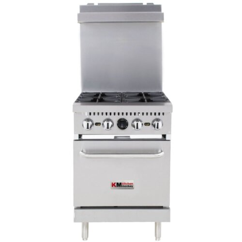 Commercial Gas Stove 24 inches 4BR NG