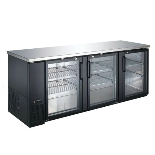 Undercounter Back Bar Refrigerator 90 Inches