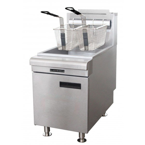 Black Diamond Commercial Deep Fryer Countertop 60 LPG