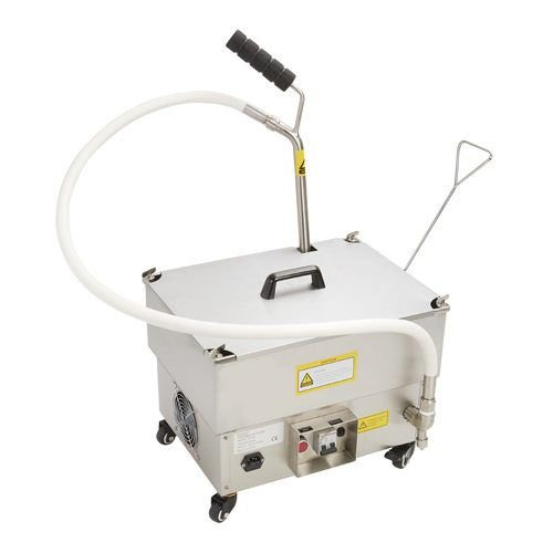 KM Portable Fryer Oil Filter 40lbs with Reversible Pump