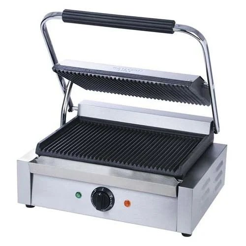 Panini Grill Grooved 1750W KM Kitchen Monkey