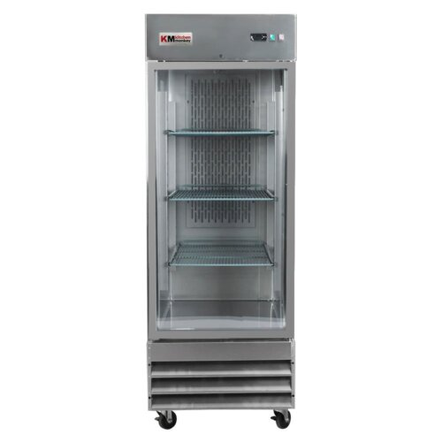 Glass Door Reach-In Refrigerator 23