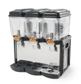 Commercial Juice Dispenser 3 Tanks of 3 Gallons CD3J