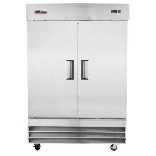 Commercial Reach-In Refrigerator 48CF Two Door 54 Inches