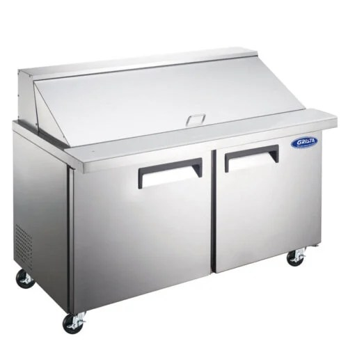 Grista Mega Top Salad Sandwich Prep Table 47 Inches
