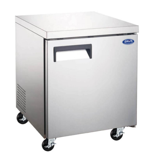 Undercounter Freezer One Door 27 Inches Grista
