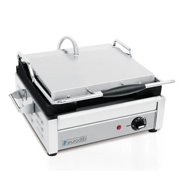 Panini Press Ribbed 16 inches 1800W 120V Eurodib