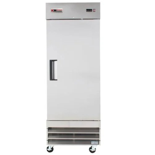 Reach-In Refrigerator 23CF One Door 29 Inches KM Kitchen Monkey