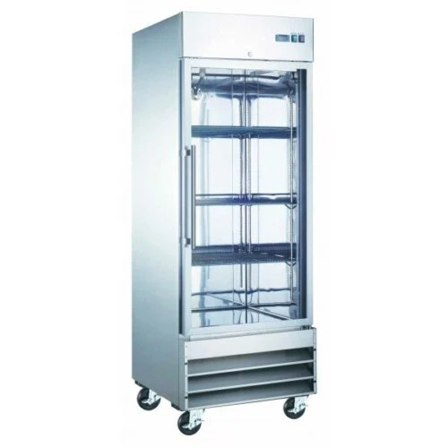 Commercial reach-in refrigerator glass door 23 cbft U-Star