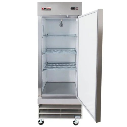 Reach-In Freezer 23CF Solid Door 29 Inches KM Kitchen Monkey
